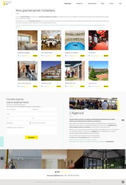 création site internet hôteliers