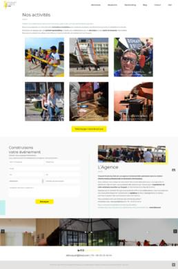 création site internet teambuilding