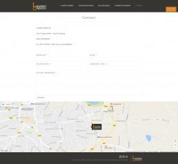 création du site web d'un fabricant de cuisines