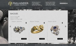 creation site web joaillier