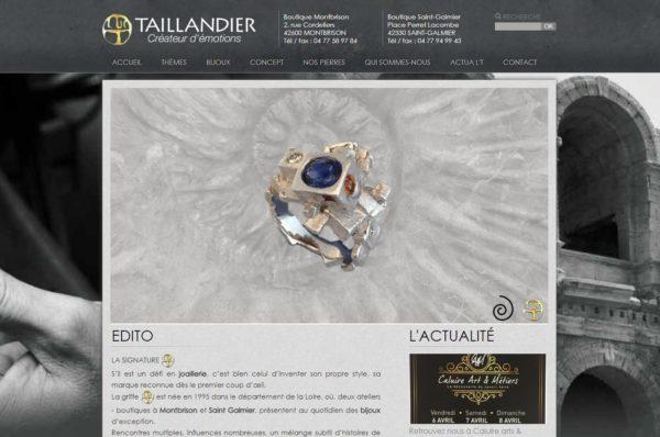 création site web bijoutier à Montbrison