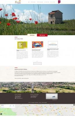 creation site web commune champdieu