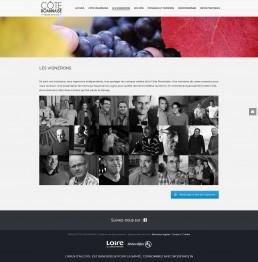 création du site web de vignerons
