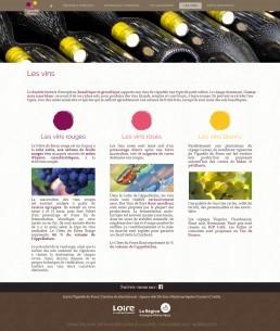 site vins du forez