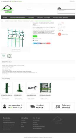 e-boutique cloture