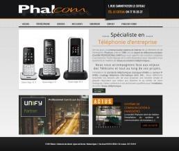 site web phalcom à roanne