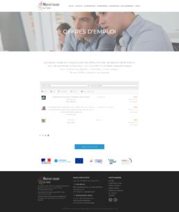 création site web offres d'emploi dans la Loire