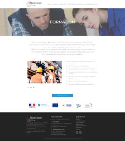 créateur site internet formation