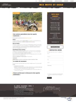 site internet de séjour de vacances