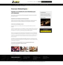 conception site web agence évènementielle
