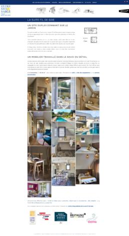 créateur site web villa de luxe à louer
