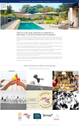 création site internet maison de luxe bretagne
