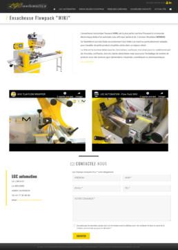 conception site web ensacheuses