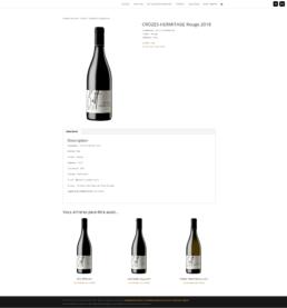 création site e-commerce de vignerons