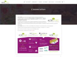 conception site internet union commerciale
