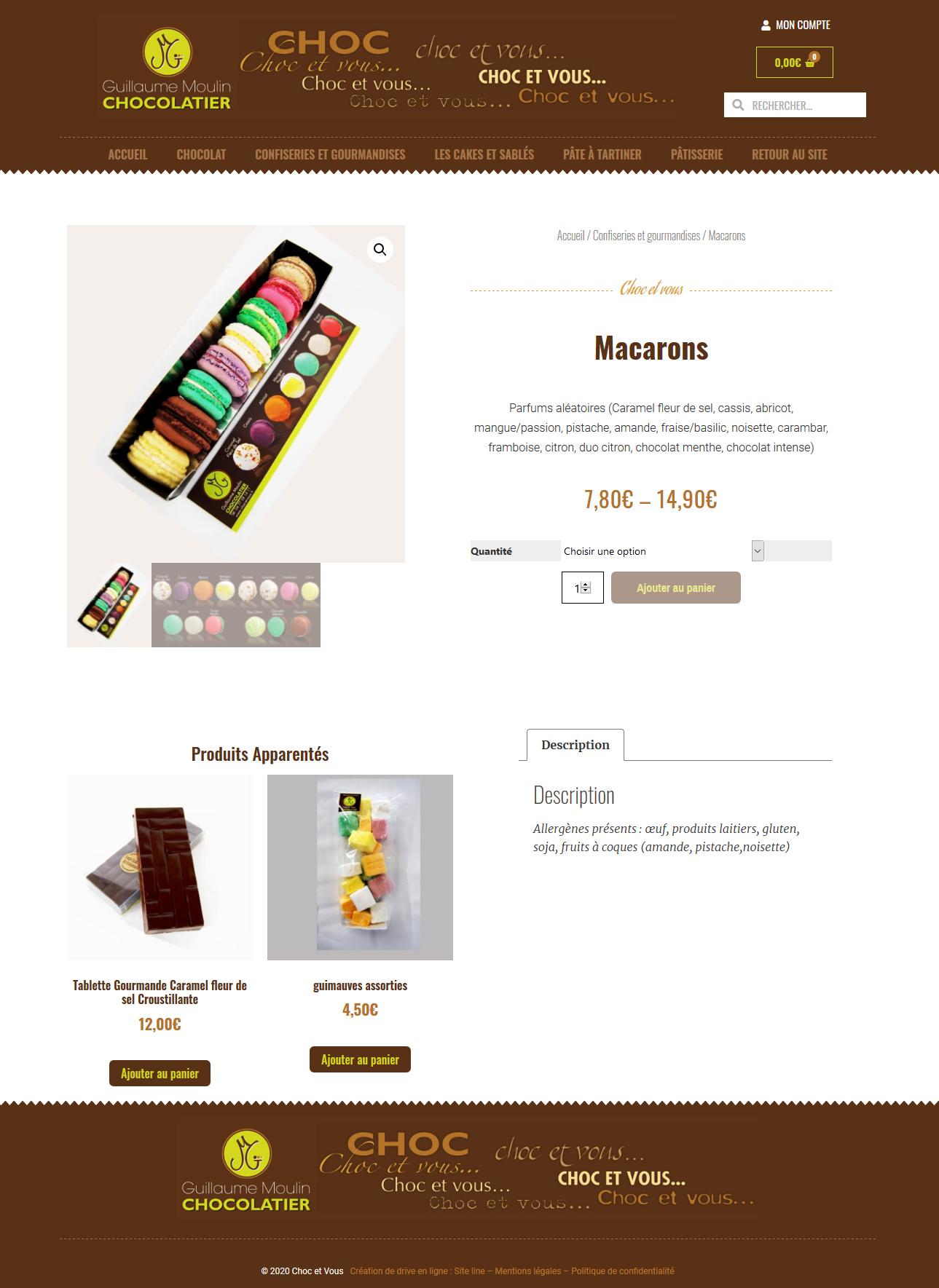 créateur site internet click and collect