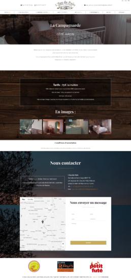 création site Internet gite chambres d'hôtes loire 42