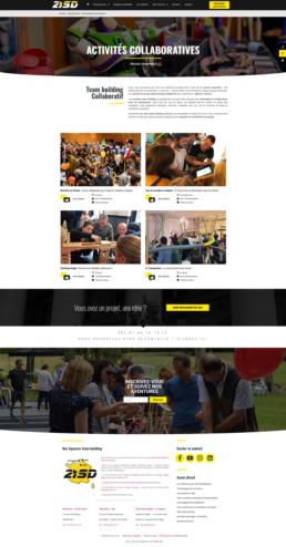 créateur site internet agence team building