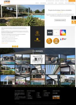 Création site web pergolas saint-etienne loire 42
