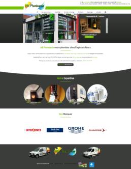 creation site internet plombier feurs - as plomberie