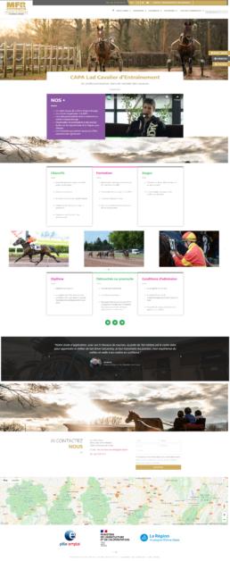 refonte site web MFR du FOREZ - Loire 42
