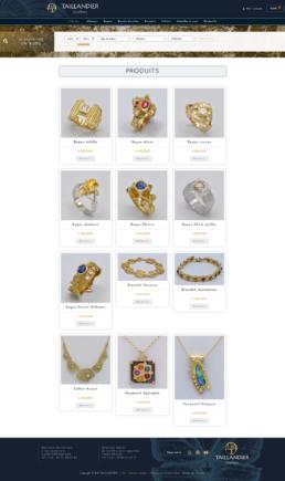 créateur site internet bijoutier joaillier