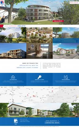 création site internet immobilier à saint-etienne
